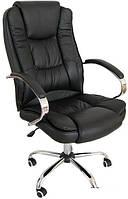 Кресло офисное компьютерное Calviano Max. Цвет черный.