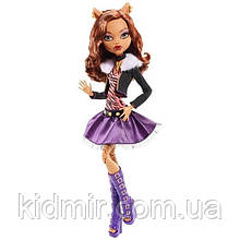 "Кукла Monster High Клодин Вульф (Clawdeen Wolf) серии Frightfully Tall Ghouls 17"" Large  Монстр Хай"