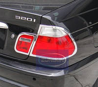 Хромовані накладки на фонари хромированные BMW e46 накладки фары