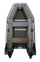 Надувная моторная килевая лодка Колибри КМ-300D серии Профи