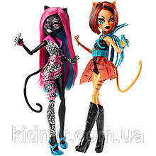 Набор кукол Monster High Кетти и Торалей (Catty and Toralei) из серии Fierce Rockers Монстр Хай