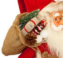 Фигурка новогодняя Санта Клаус, 81 см (Красный / Черный), фото 3