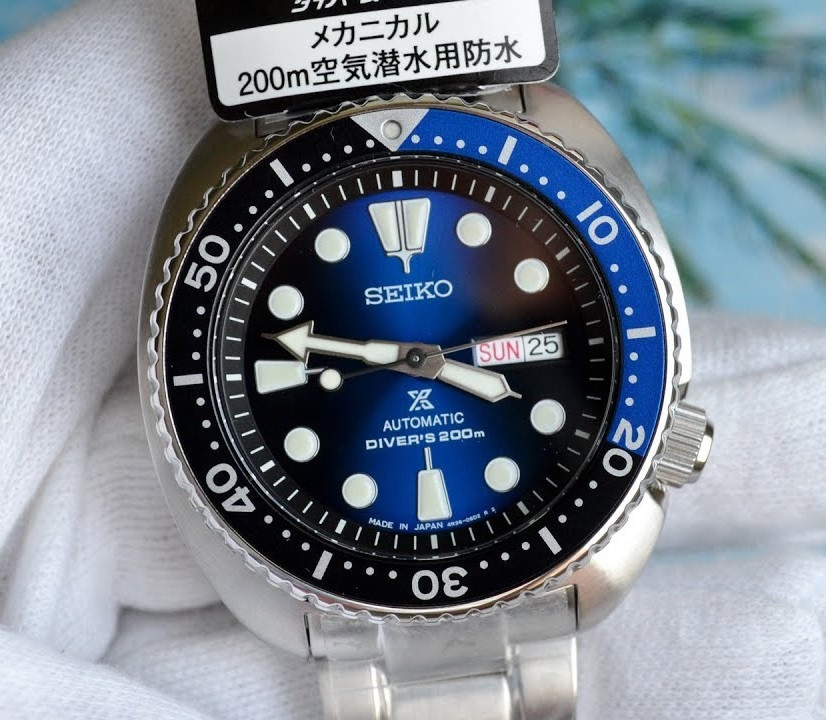 Часы Seiko Prospex SBDY013 Turtle Automatic Diver's 4R36