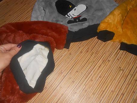 Кофта теплая детская из плюша , фото 2