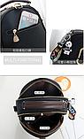 Рюкзак-сумка чорний Sujimima, фото 3