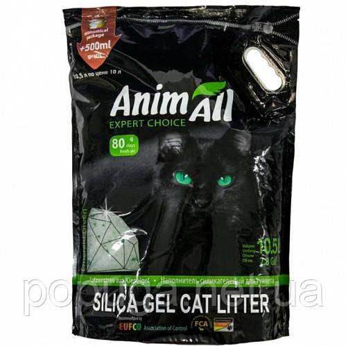 AnimAll (Энимал) наполнитель силикагель Кристаллы изумруда, для котов 10.5л.