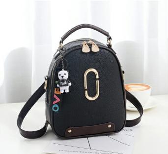 Рюкзак-сумка чорний Sujimima