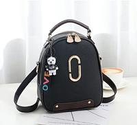 Рюкзак-сумка Sujimima черный, фото 1