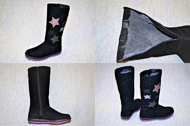Сапоги девочка, Eleven shoes звезды фото