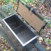 Ящик для зимней рыбалки металлический хорошее качество