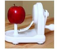 Яблокочистка «серпантин», apple peeler, держатель, острое лезвие, быстрая очистка кожуры с фруктов и овощей