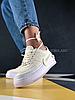 Женские кроссовки Nike Air Force 1 Jester 'White' (Найк Аир Форс) белые, фото 5