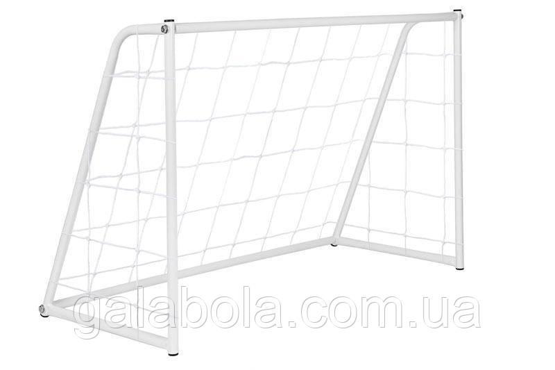 Ворота футбольные с сеткой SECO (180 х 120 х 65 см)
