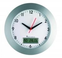 Часы настенные, радиоуправляемые DOSTMANN (не поставляется)