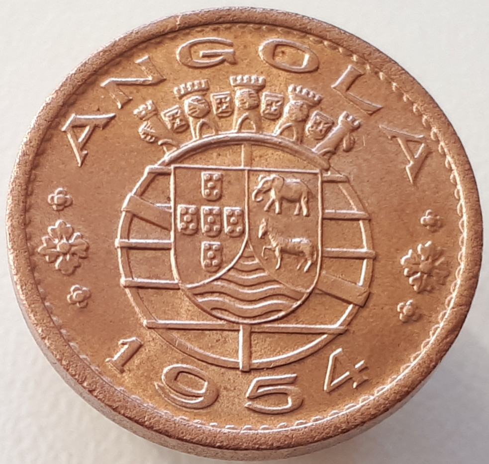 Португальская Ангола 50 сентаво 1954
