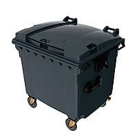 Мусорный бак для ТБО 1100л SULO (Германия) Серый