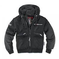 Куртка с капюшоном Dobermans Aggressive Nord Division II (Black)  KU31, фото 1