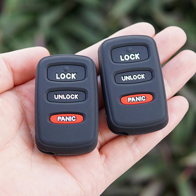 Силиконовый чехол для ключа Mitsubishi Grandis,Pajero Wagon,Sport,Lancer,Outlander