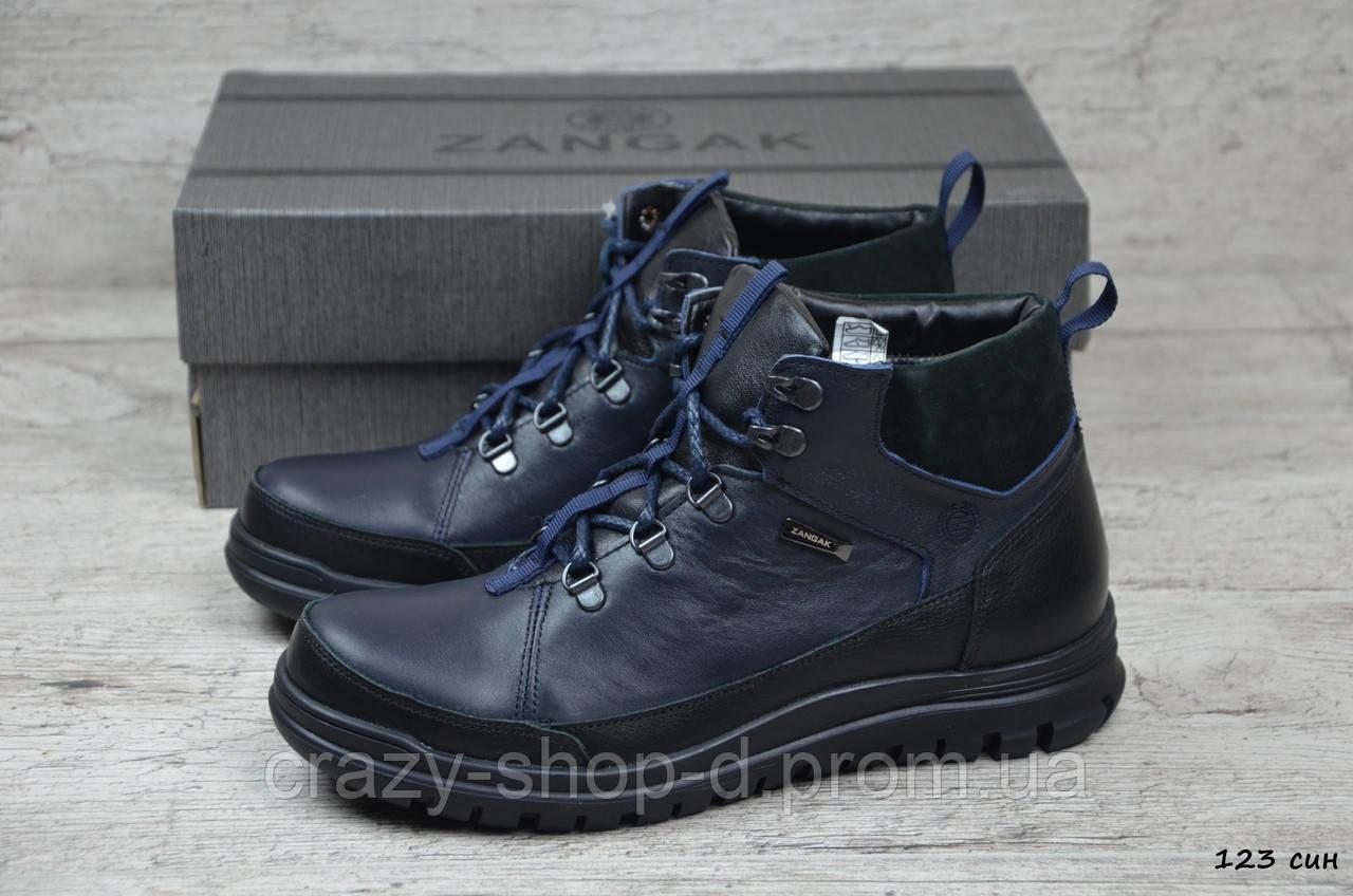 Мужские кожаные ботинки Zangak, фото 1