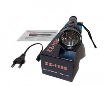 Мощный электрошокер 1106 Police шокер 20000KV BL-1106, фото 2