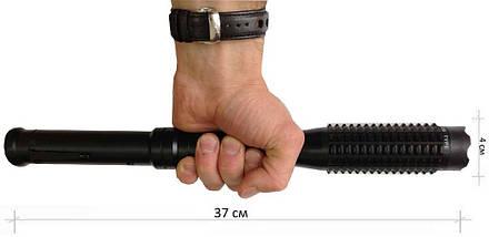 Электрошокер-дубинка Police 1109 (железная шокер-бита,,электродубинка шокер), фото 2