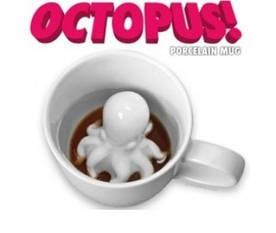 Оригинальная чашка спрут Octopus