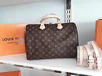 Cумка Люкс-реплика Louis Vuitton Speedy Large 35 см, монограмм классика, фото 1