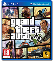 Игра Grand Theft Auto V (GTA 5) (PS4, русские субтитры)