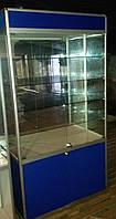 Торговая витрина б/у стекло + аллюминиевый профиль, фото 1
