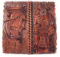 """Нарды ручной работы """"Морской Разбойник"""",авторская работа,петли из нержавеющей стали с грави"""