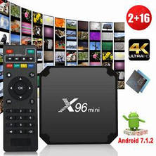 X96 mini,x96 mini smart tv box смарт тв бокс, фото 3
