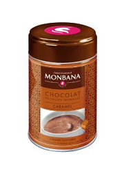 Горячий шоколад с карамелью Monbana Caramel, 250г, фото 2