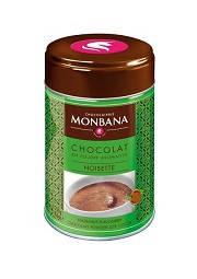 Горячий шоколад с лесным орехом Monbana Noisette, 250г, фото 2