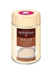 Горячий белый шоколад Monbana Blanc, 250г
