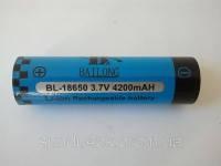 Аккумулятор к электрошокерам Bai Long BL-18650, фото 2