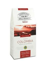Кофе молотый Compagnia Dell'Arabica Colombia Medelin Supremo - 250г