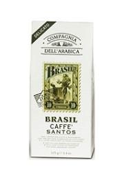 Кофе в зёрнах Compagnia Dell'Arabica Brasil Santos - 500г