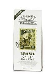 Кофе в зёрнах Compagnia Dell'Arabica Brasil Santos - 500г, фото 2