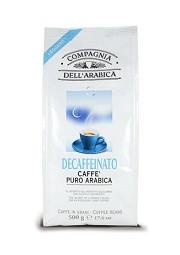 Кофе в зёрнах Compagnia Dell'Arabica Caffe Puro Arabica Decaffeinato - 500г