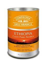 Кофе молотый Compagnia Dell'Arabica Tubo Etiopia (ж\б) - 125г, фото 2