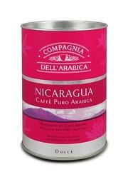 Кофе молотый Compagnia Dell'Arabica Tubo Nicaragua (ж\б) - 125г