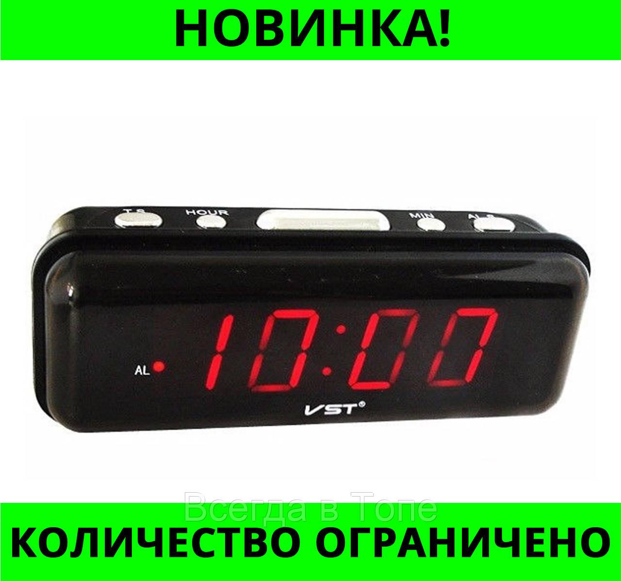 db28187a Часы электронные VST 738-1 с красной подсветкой!Лучшая цена - Всегда в Топе