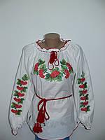 Жіноча вишита сорочка з калиною великі розміри be2766b2d8ee8