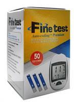 Тест полоски к глюкометру Fine test (50 шт)