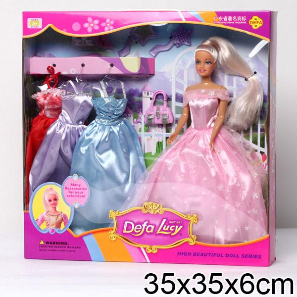 Кукла DEFA 8019 c одеждой, аксессуары, 2 вида