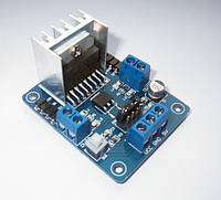 Драйвер шагового двигателя L298N напряжение 5В модуль для Arduino, фото 1