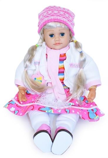 Кукла Ангелина 1050252 R/051 интерактивная, сенсорные руки,музыка