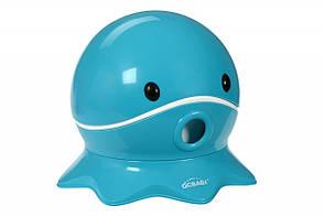 Same Toy QCBABY Дитячий горщик - Восьминіг (бірюзовий)