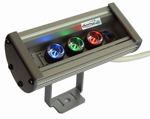 Rgb Прожектор светодиодный С-9. Линейный светильник.