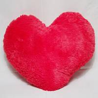 Плюшевая подушка Сердечко красное 15 см